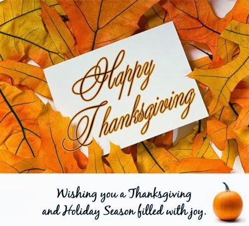 Meaning Thanksgiving Greeting Card Saying
