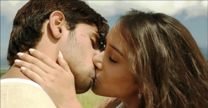 Siddharth Malhotra  and  Shraddha Kapoor hot kissing scene in ek villain