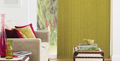 Cheap green vertical blinds