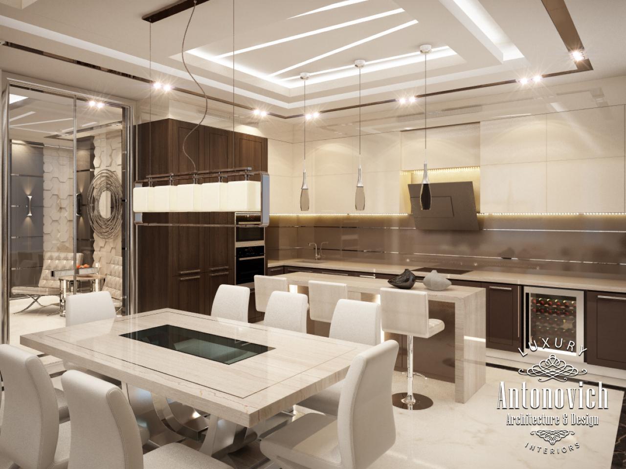 Modern Style In The Authoru0027s Works Of Luxury Antonovich Design, Reflect  Future In Interior Design.