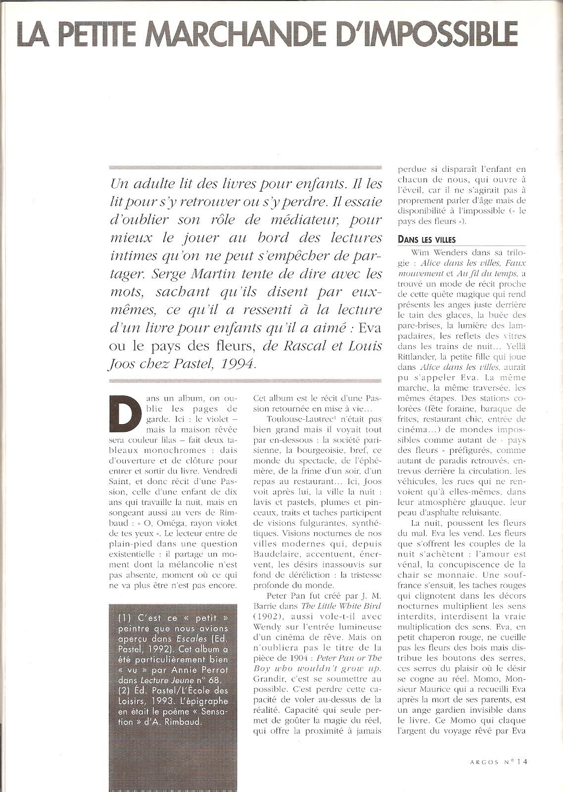 Martin ritman bibliographie la petite marchande d impossible eva au pays des fleurs - La petite marchande angers ...