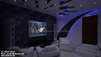 Awesome Home Theater Rooms Design Ideas Contemporary House