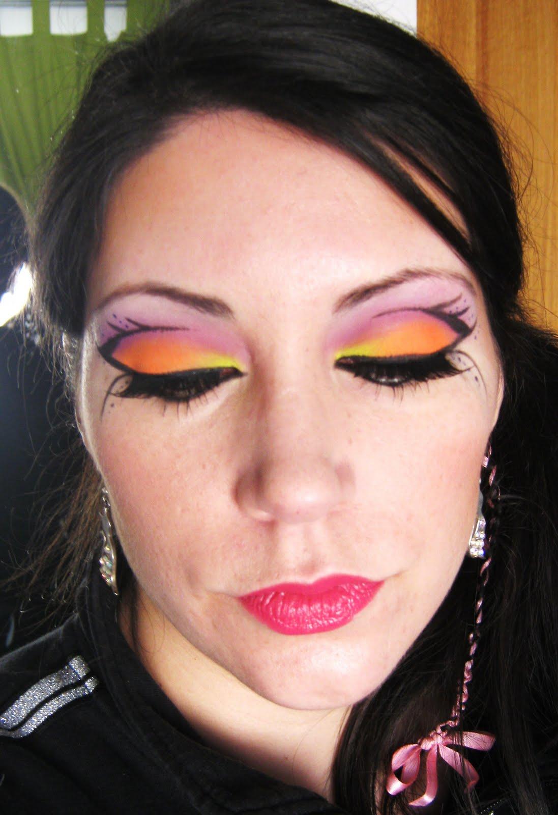 maquillaje dificil