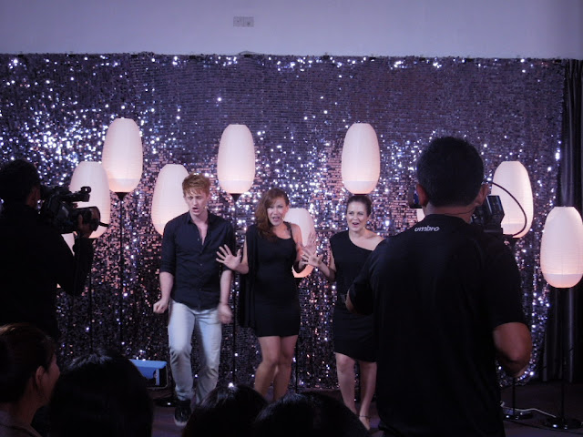 Lol Toggle by MediaCorp recording at Scape, Singapore, Edges the Musical