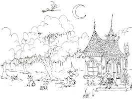 Coloring Pages For Numbers And Objects