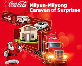 Coca-Cola Milyun-Milyong Caravan of Surprises Promo, coke promo, coke Philippines, promotion, Philippines promo