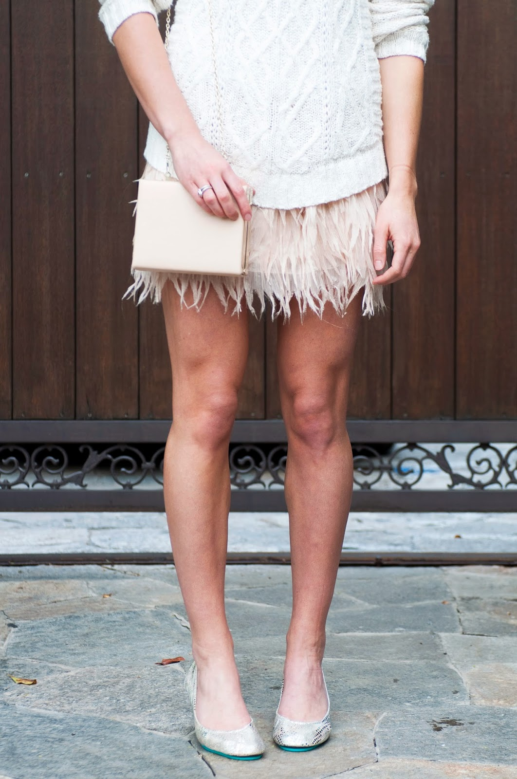 holiday-style-with-tieks-feather-skirt