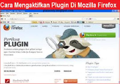 Cara Mengaktifkan Plugin Di Mozilla Firefox