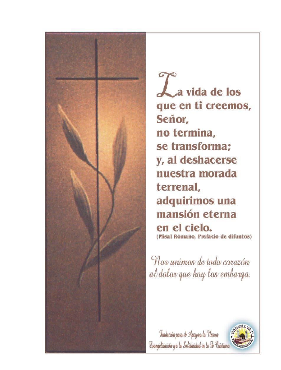 Tarjetas De Condolencias, Pesame, Condolencia |Meicy - Chile|
