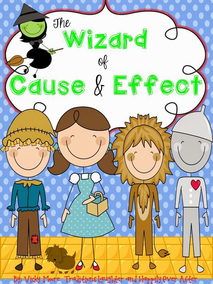 http://www.teacherspayteachers.com/Product/The-Wizard-of-CAUSE-and-EFFECT-freebie--1042664