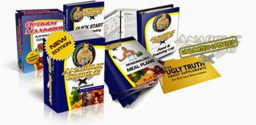 anabolic cooking cookbook package