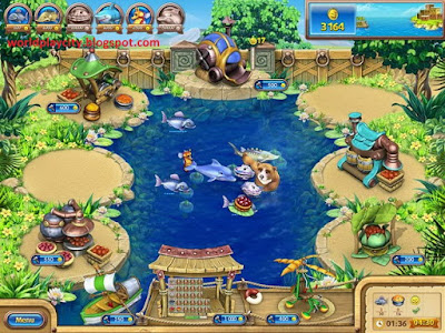 Farm Frenzy Gone Fishing PC Game Free Download