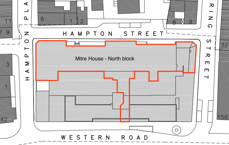 Brighton bits the mitre house hotel development - Dormer window house plans extra personality ...