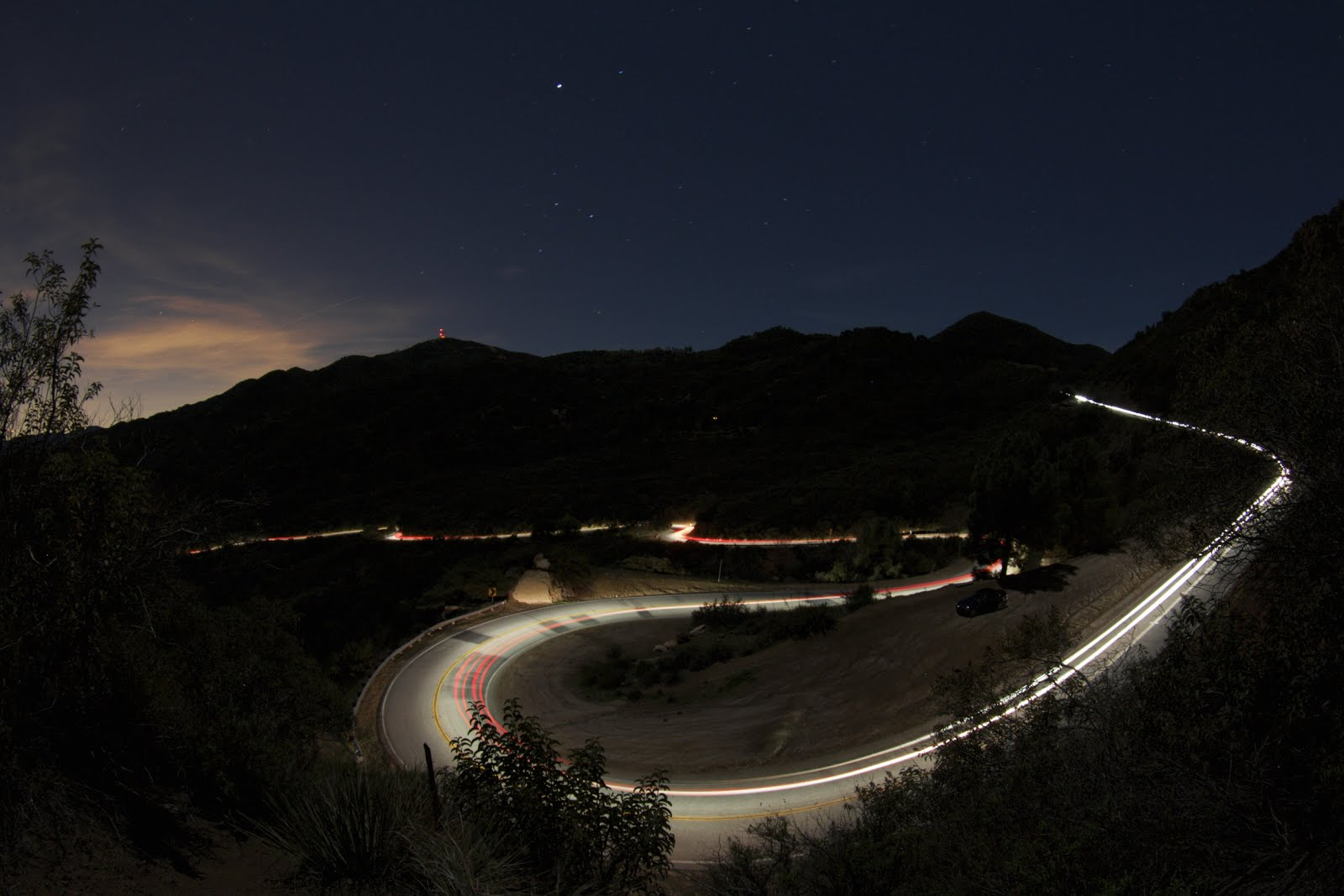 Sportbike Aerials, The Snake Mulholland Hwy - YouTube