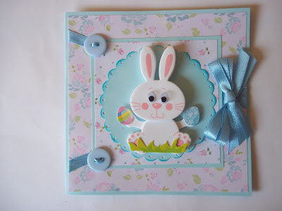 Bunny Themed Card