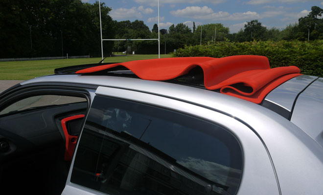 Citroen C1 Airscape fabric roof