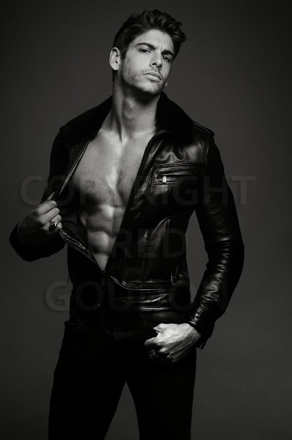 Picture About Male Model JULIEN M as Great Beautiful Model in Fred Goudson