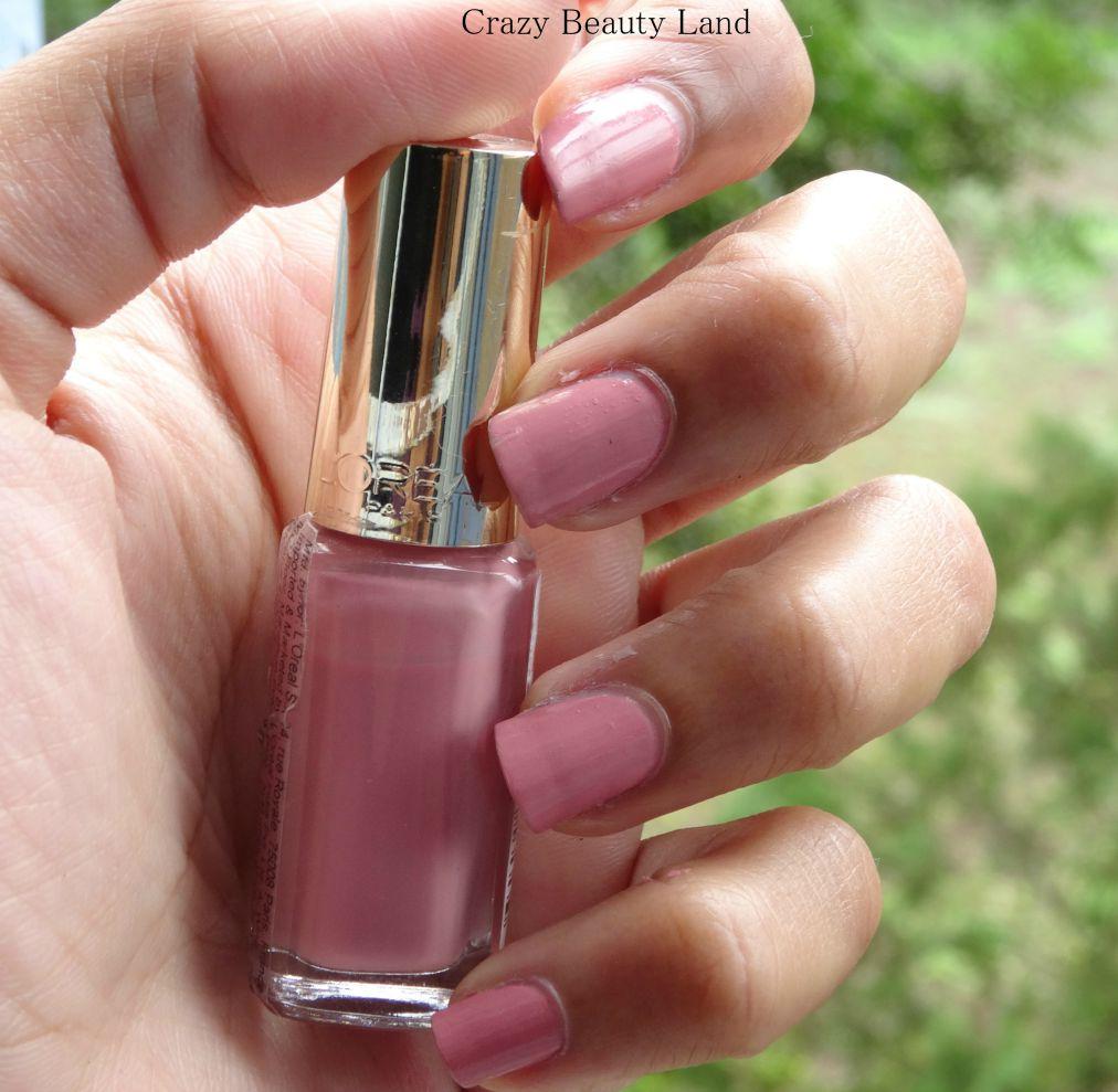 loreal paris color riche les vernis boudoir rose 204 top coats - Vernis L Oral Color Riche