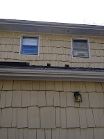 two roof vents shown on the 1st story roof