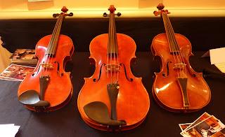 Les violons fabriqués à Montpellier