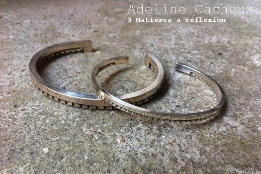 Bracelet Homme argent Adeline Cacheux