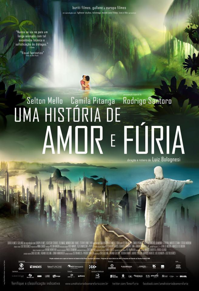 Uma História de Amor e Fúria DVDRip XviD Nacional