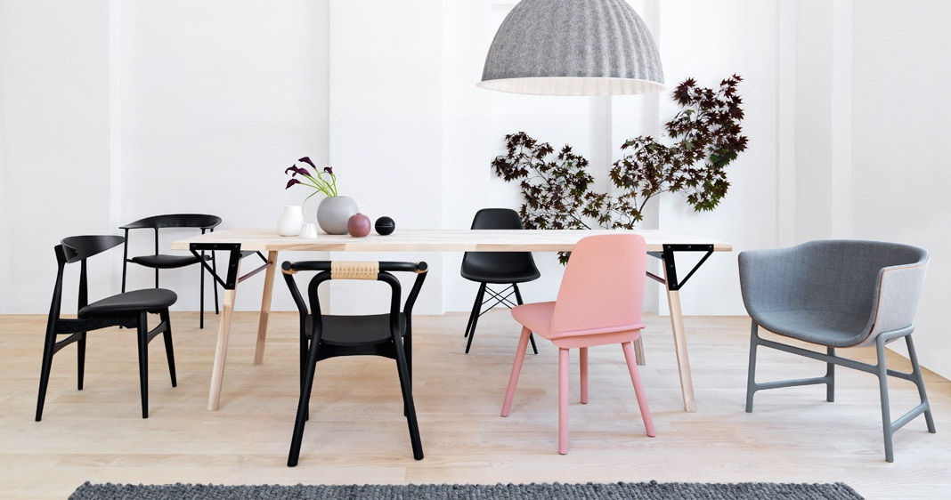 Closed Feel Inspired Blog DINING TABLE WITH SIX CHAIRS