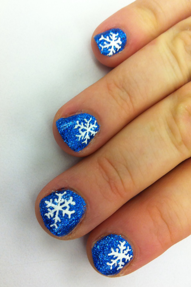 pretty hairstyles78: girls holiday fingernails and nail art