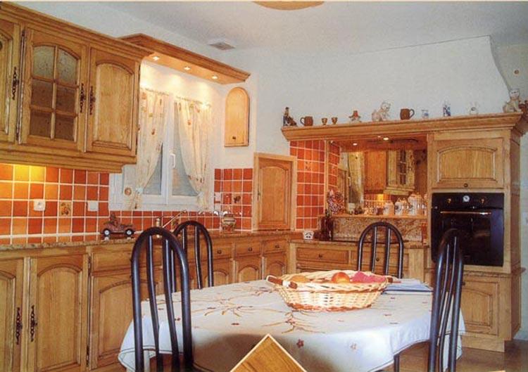 Muebles y decoraci n de interiores cocinas r sticas francesas - Cocinas rusticas de obra fotos ...