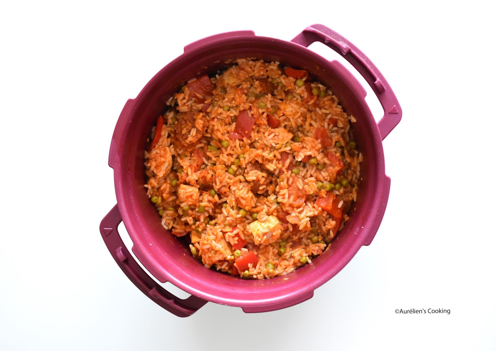 Aur lien 39 s cooking pa lla carnivore express au micro minute recette tupperware - Micro minute tupperware recette ...