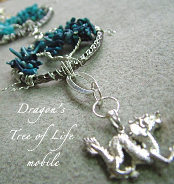 DRAGON TREE OF LIFE Hanging Mobile