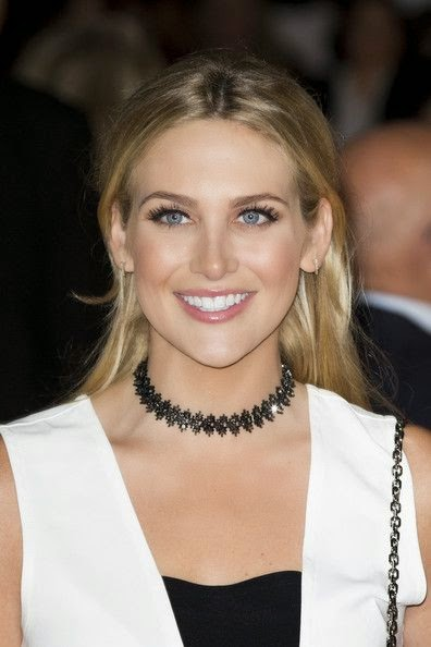 Wow, she's totally ready to help James Bond defeat the bad guys in this get up. Stephanie Pratt's so spicy, you'd think she's packing heat - for realize as she's strolls down into the red carpet at movie premiere, Love Rosie in London on Monday, October 6, 2014.