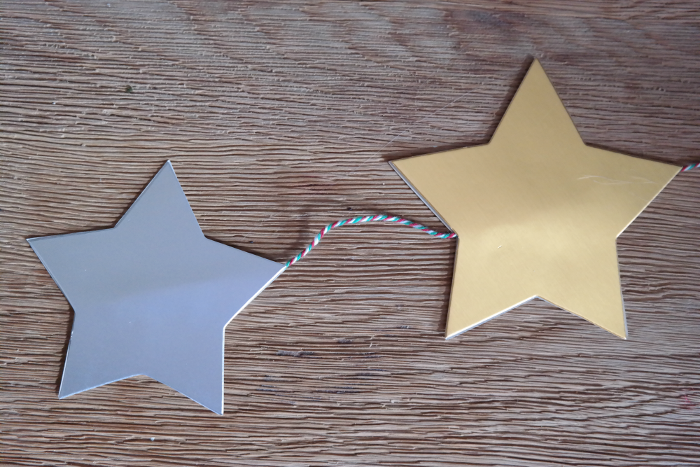 Quick Easy Starry Christmas Decorations