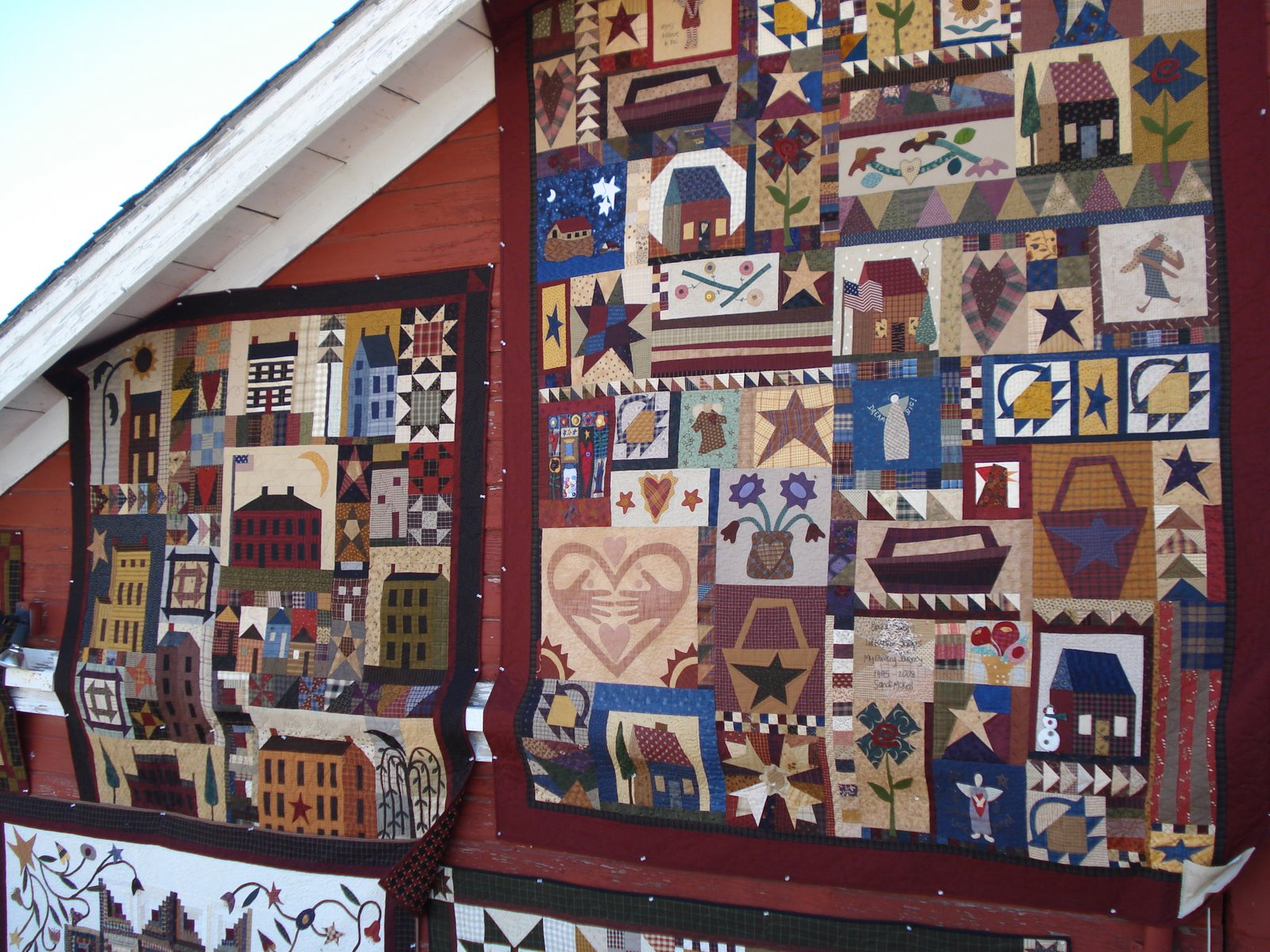 Snippets of a Quilter: Buggy Barn Quilt Show Part 2 : buggy barn quilt show - Adamdwight.com