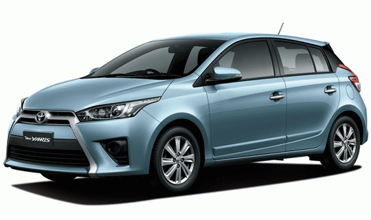 Toyota All New Yaris Frozen Blue Metallic
