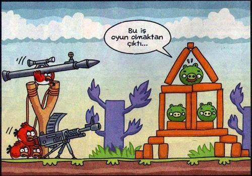 Angry Birds komik