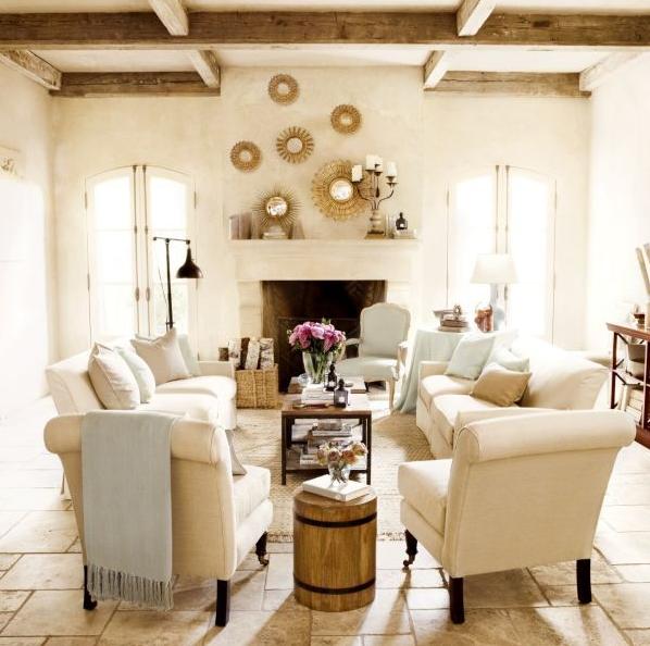 Sunburst Mirrors for Home Decor in Living Room