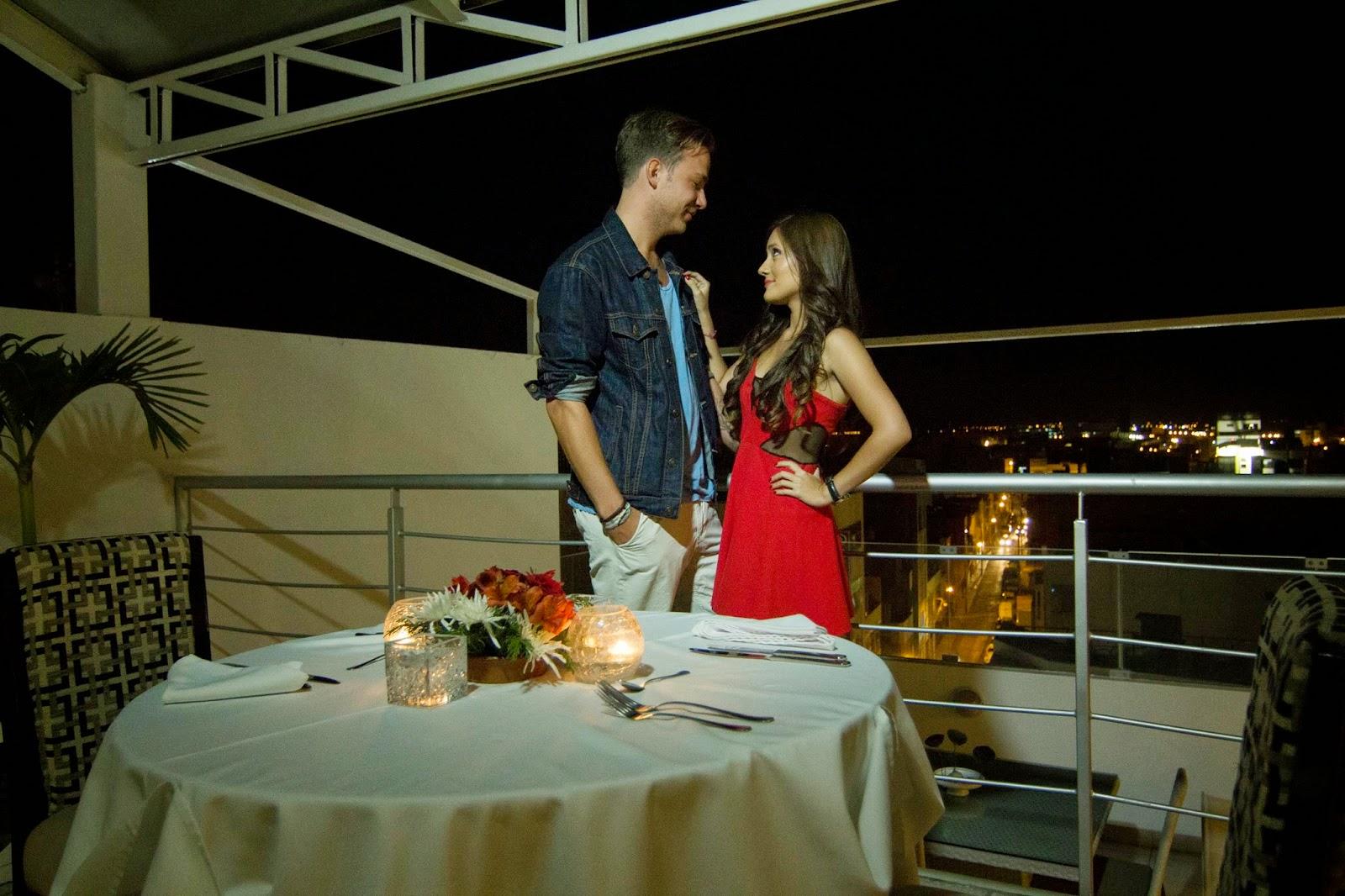 Una cena rom ntica en el hotel costa del sol chiclayo - Detalles para cena romantica ...