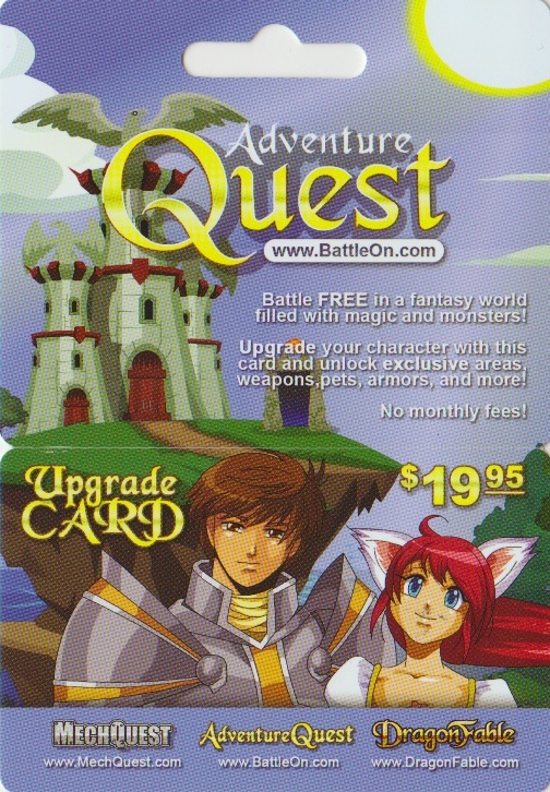 Collectomania: Game Cards - Adventure Quest