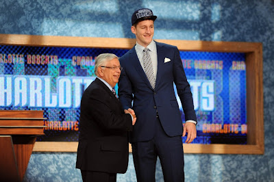 Cody Zeller at the 2013 NBA Draft