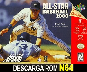 All-Star Baseball 2000  64 ROMs Nintendo64