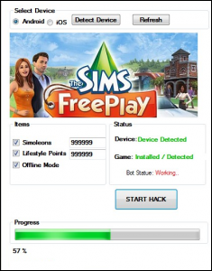 The Sims FreePlay Hack Tool Android,iOS ~ Game Cheats and Hacks