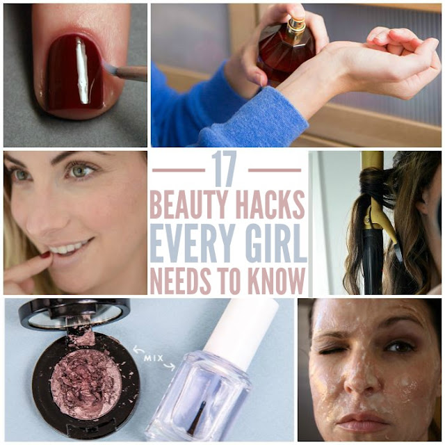 BEAUTY HACKS YOU DIDN'T KNOW YOU NEEDED