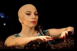 lady gaga in bald head