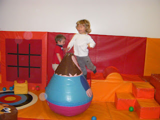 jumping kid in soft play area, horizones havant