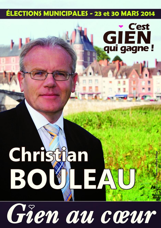 Christian Bouleau c'est GIEN qui gagne !