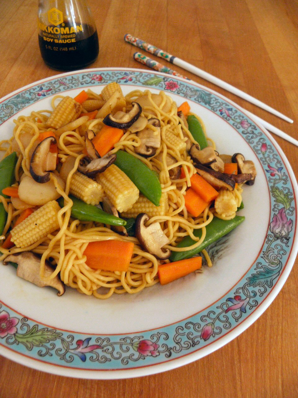 Vegetable Lo Mein Recipe Chinese Vegetable lo mein