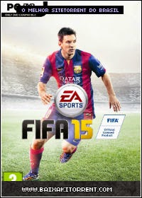 Capa Fifa 15 (2015) + Torrent + Crack Baixaki Download