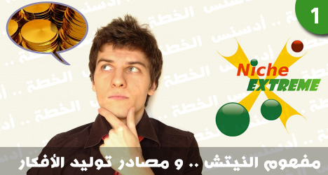 بالتفصيل : ماهو النيتش Niche+sites+and+how+to+generate+niche+ideas