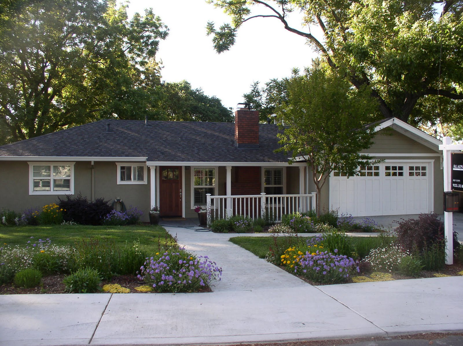 Our slo house curb appeal exterior paint color for Colors to paint exterior of house